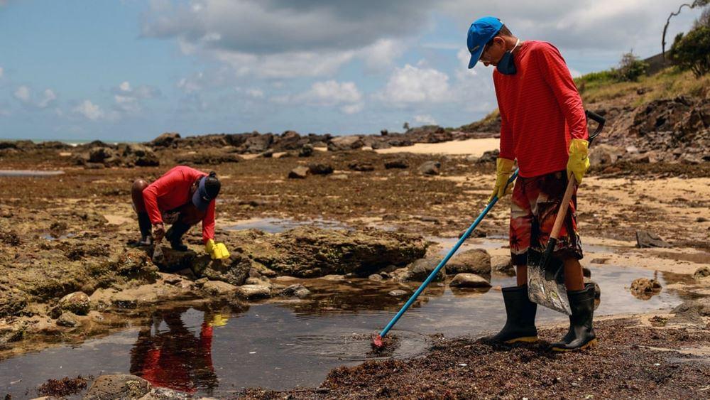 """Διαψεύδει η πλοιοκτήτρια εταιρεία ότι το δεξαμενόπλοιο """"Bouboulina"""" ρύπανε τις ακτές της Βραζιλίας"""