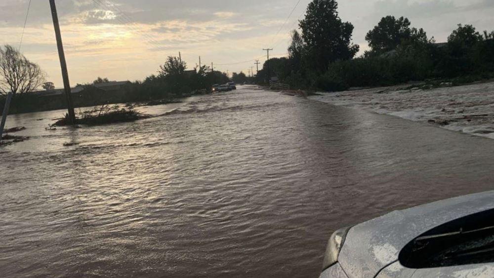 """Κακοκαιρία """"Θάλεια"""": Μεγάλες οι ζημιές σε γεωργία και κτηνοτροφία στον Δήμο Λαγκαδά"""