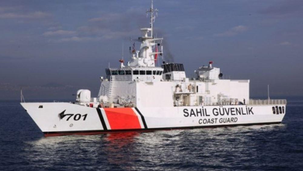 Για ένταση στα Ίμια, μιλούν τουρκικά ΜΜΕ: Σκάφη της τουρκικής ακτοφυλακής παρενόχλησαν Έλληνες ψαράδες