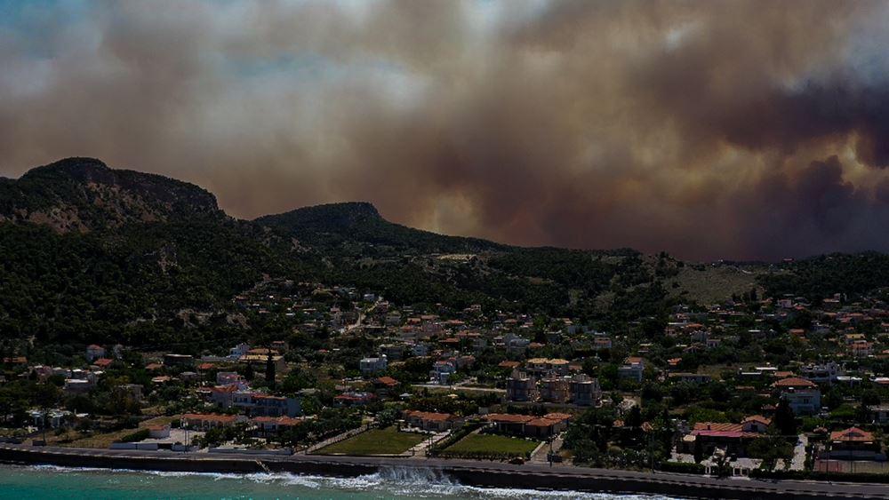 Πυρκαγιά στην Κορινθία - Χαρδαλιάς: Έχουν καεί 20.000 στρέμματα