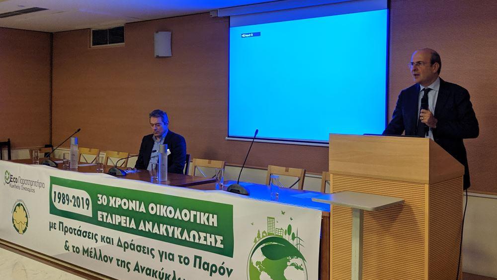 Κωστής Χατζηδάκης: Οι 7 άξονες της κυβέρνησης για την ανακύκλωση