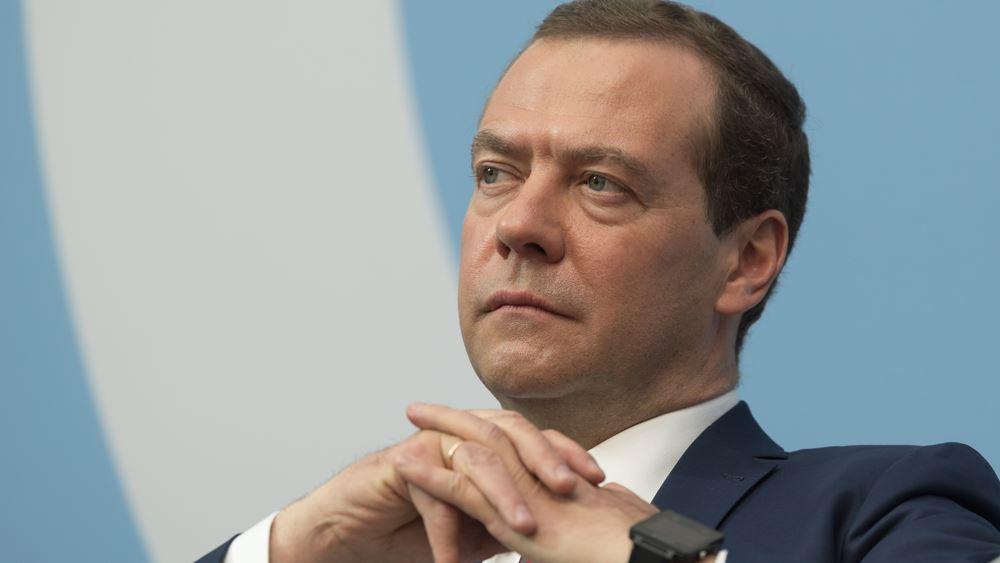 Στο Βελιγράδι φτάνει αύριο ο ρώσος πρωθυπουργός Ντμίτρι Μεντβέντεφ