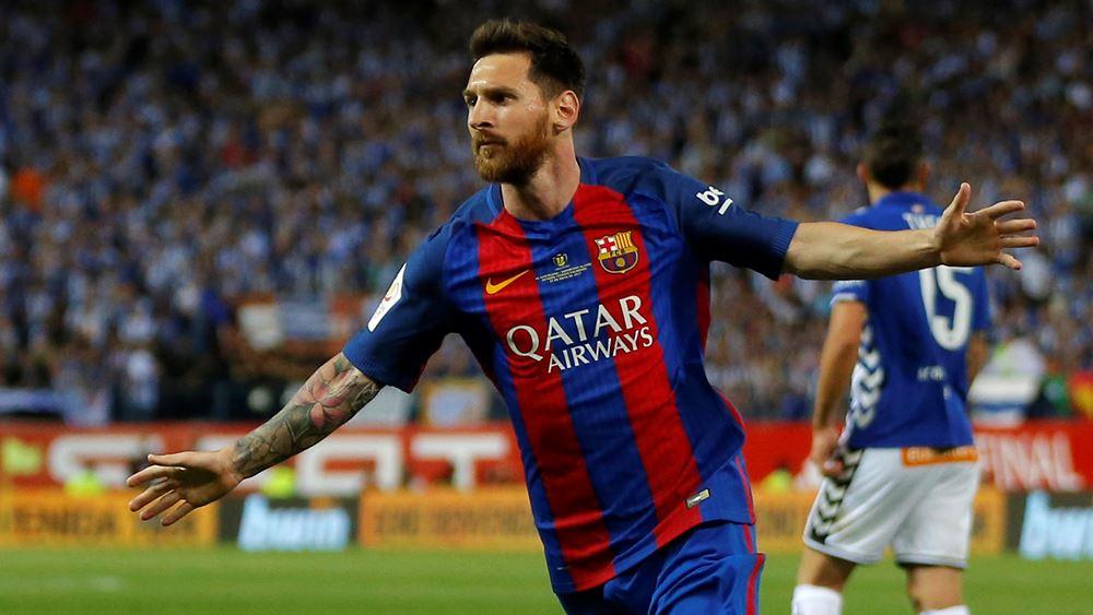 Μια ανάσα από την κορυφή των πιο ακριβοπληρωμένων ποδοσφαιριστών ο Messi
