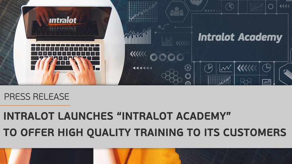 "Intralot: Δημιουργεί την ""INTRALOT Academy"" Εξασφαλίζοντας Υψηλής Ποιότητας Εκπαίδευση στους Πελάτες της"
