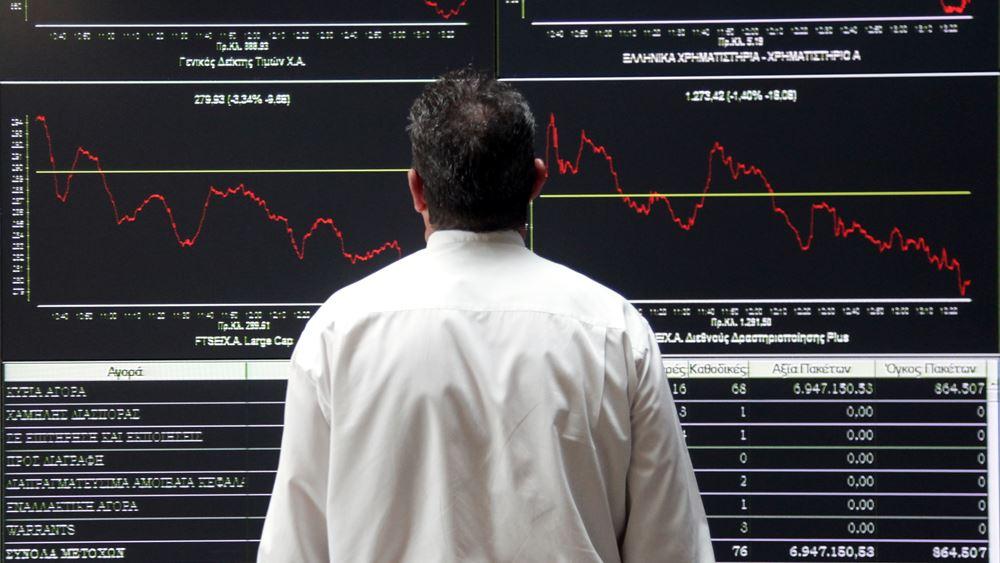 Χρηματιστήριο: Βουτιά 6,8% σε δύο ημέρες για τις τράπεζες