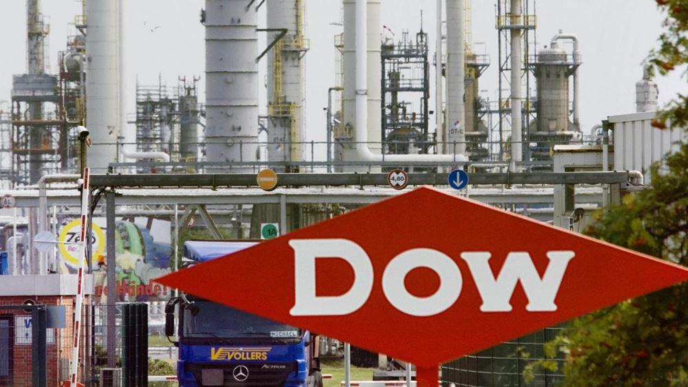 Καλύτερα των εκτιμήσεων τα κέρδη τριμήνου της Dow