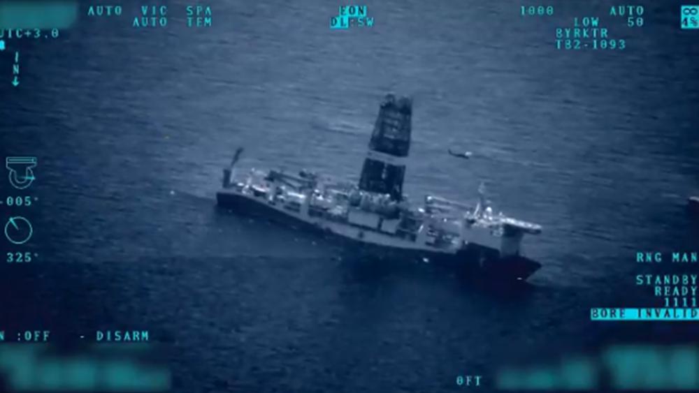 Νέο σόου της Τουρκίας: Drones βιντεοσκοπούν τα τουρκικά πλοία στην ανατολική Μεσόγειο