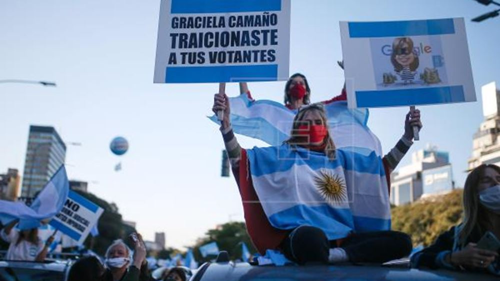 Αργεντινή: Πάνω από 1 εκατομμύριο κρούσματα μόλυνσης από τον κορονοϊό