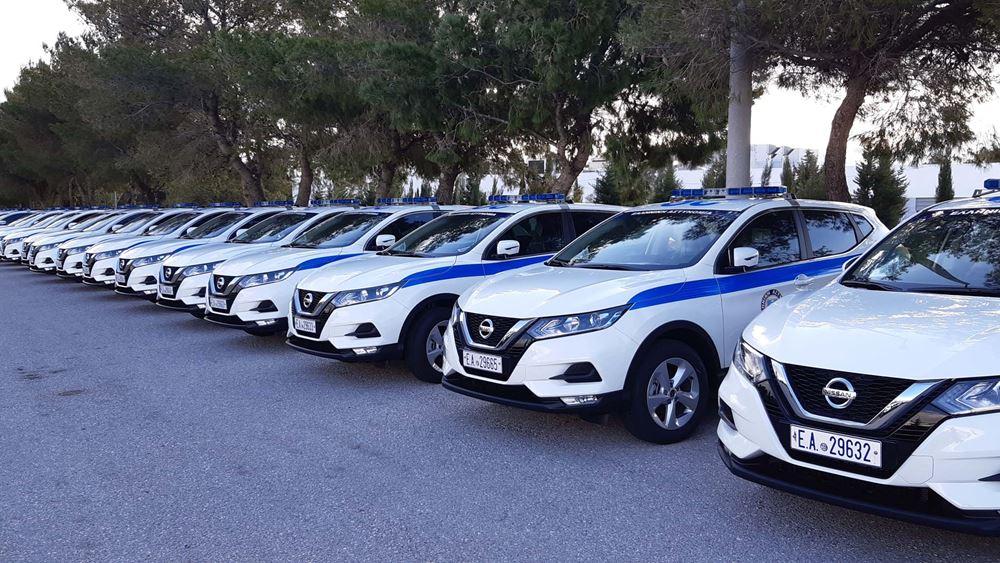 Ενίσχυση του στόλου περιπολικών της Ελληνικής Αστυνομίας