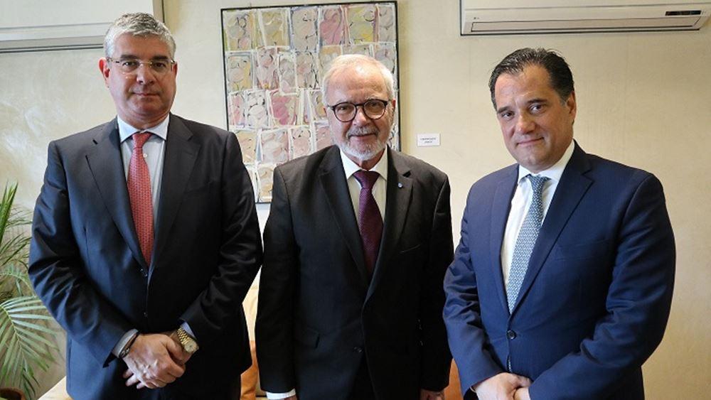 Η Ελληνική Αναπτυξιακή Τράπεζα στη συνάντηση Γεωργιάδη - Hoyer