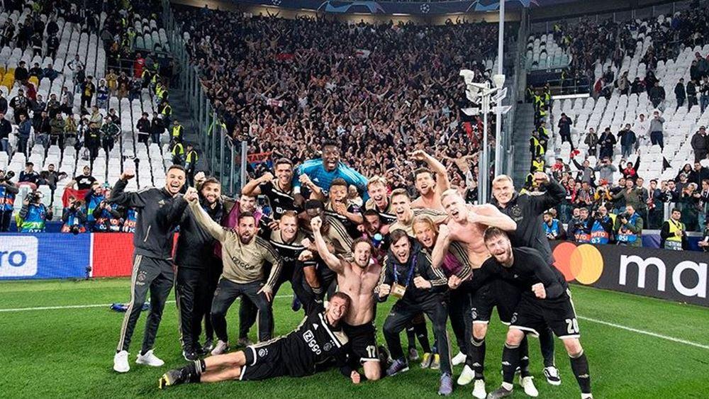 Άλμα για τις μετοχές του Ajax, βυθίζεται η Juventus