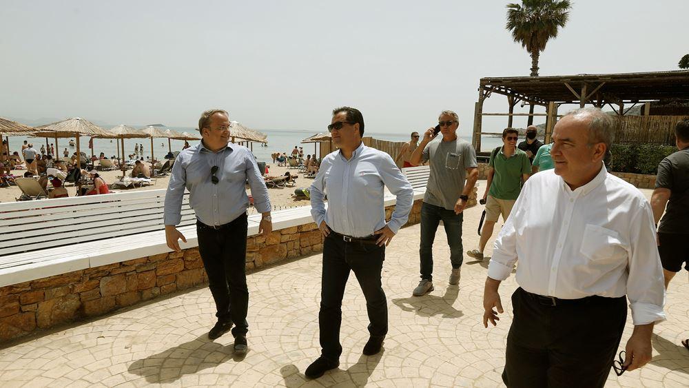 Αδ. Γεωργιάδης: Τηρήθηκαν τα προβλεπόμενα μέτρα στις παραλίες