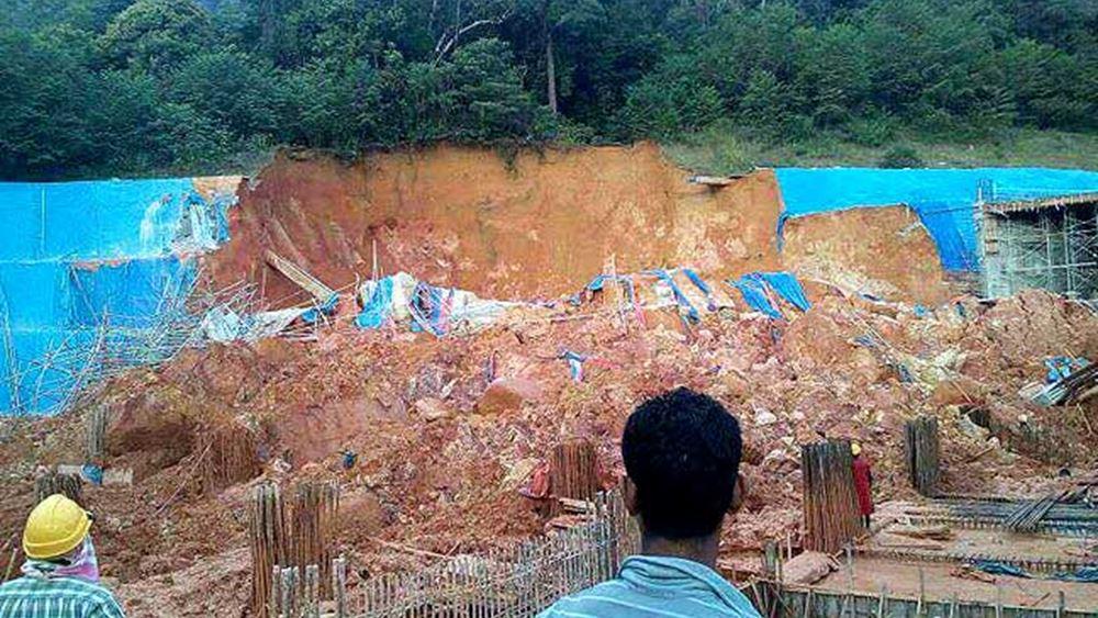 Μαλαισία: Τρεις νεκροί έπειτα από κατολίσθηση σε χώρο εργοταξίου