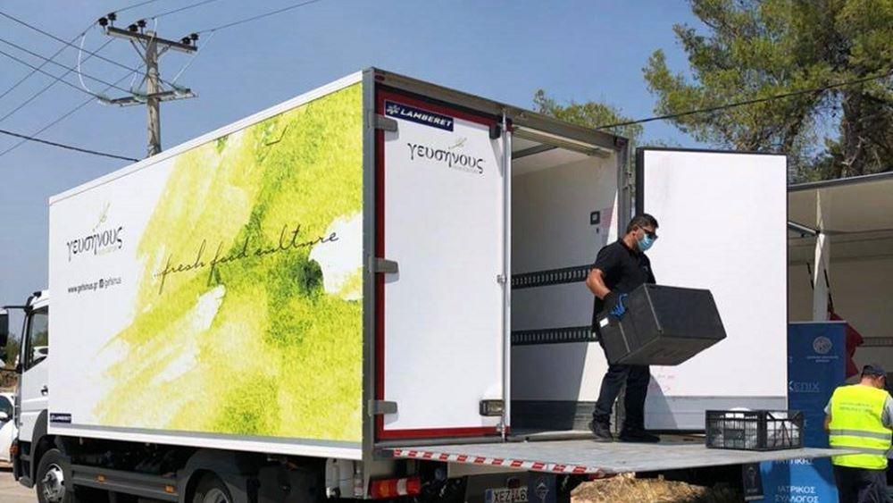 Περιφέρεια Αττικής: Σε εξέλιξη η καθημερινή διανομή 2.000 γευμάτων σε πυρόπληκτους