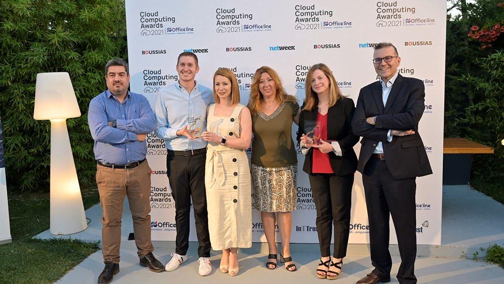 Info Quest Technologies: Διπλή βράβευση στα Cloud Computing Awards