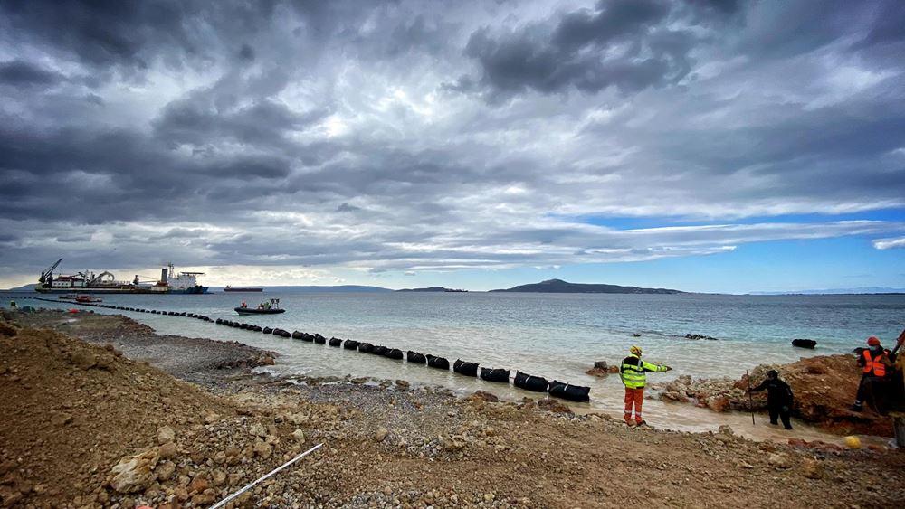 ΑΔΜΗΕ - Prysmian Powerlink: Ολοκληρώθηκε το πρώτο μέρος της ηλεκτρικής διασύνδεσης Κρήτης-Πελοποννήσου