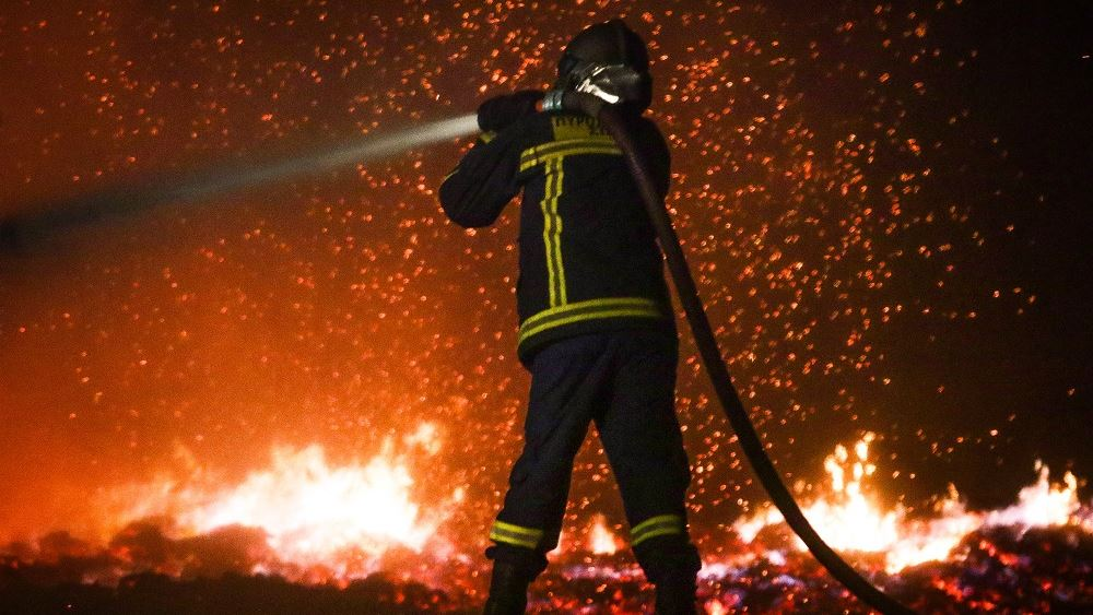 Πολύ υψηλός κίνδυνος πυρκαγιάς για αύριο Κυριακή
