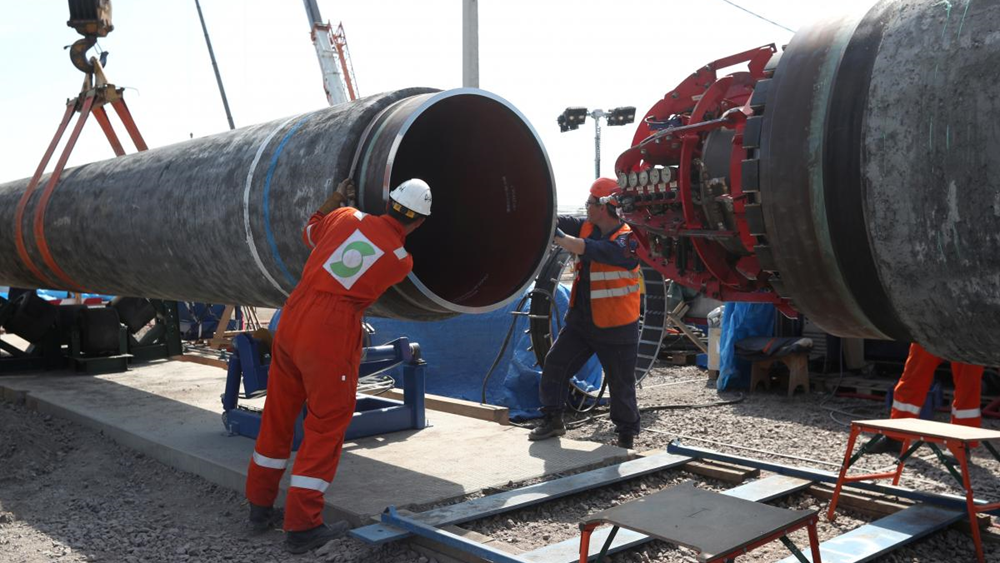 Η Gazprom θα ολοκληρώσει μόνη της την κατασκευή του αγωγού Nord Stream-2