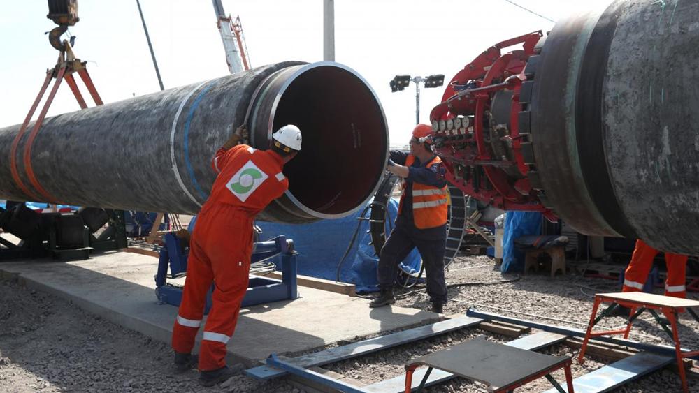 """Η Ρωσία """"βλέπει"""" στις κυρώσεις των ΗΠΑ κατά του Nord Stream-2 πλήγμα κατά της γερμανικής οικονομίας"""