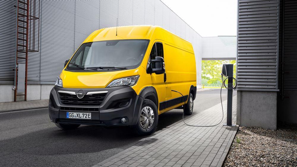Το νέο και ηλεκτρικό Opel Movano-e