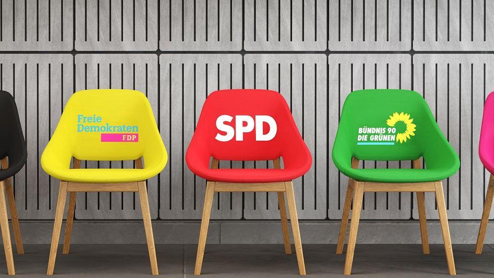 Γερμανία: SPD, Πράσινοι και FDP συνεχίζουν τις διερευνητικές για σχηματισμό κυβέρνησης