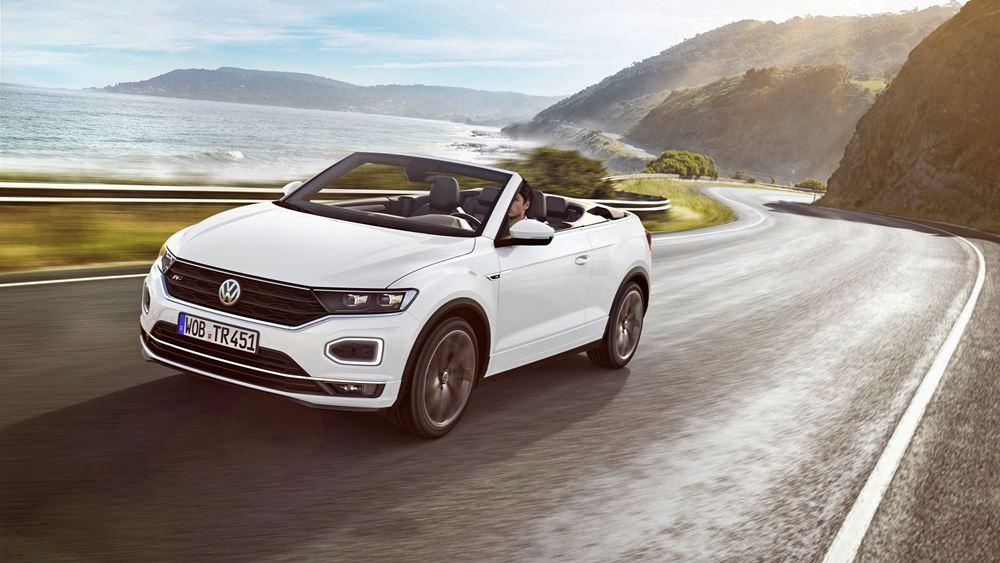 Το νέο Volkswagen T-Roc Cabriolet