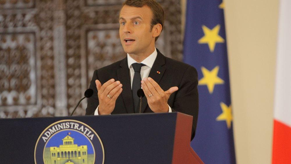 Πρόταση Μακρόν για διεξαγωγή διεθνούς συνόδου για παροχή βοήθειας στην Αλβανία