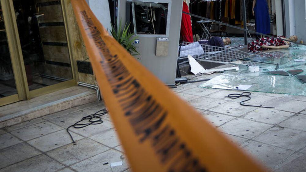 Έκρηξη σε ΑΤΜ στο Παλαιό Φάληρο