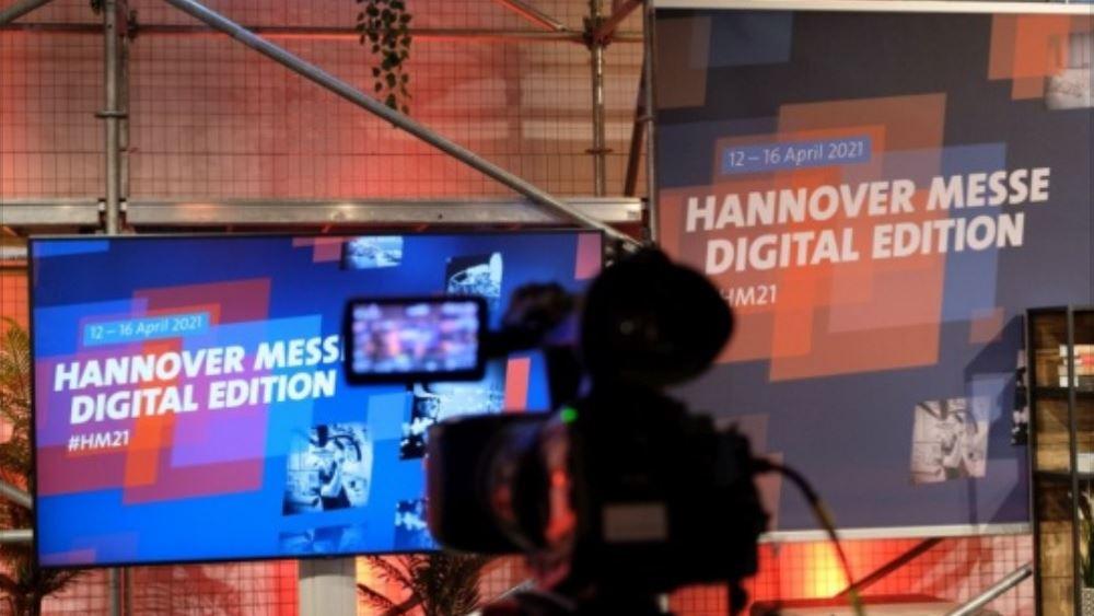 Ελληνογερμανικό Επιμελητήριο: 1.800 συμμετέχουσες εταιρείες στη διεθνή έκθεση για τη βιομηχανία HANNOVER MESSE Digital Edition