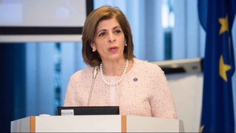 Στ. Κυριακίδου: Στην ΕΕ έχει λάβει μία δόση εμβολίου το 40% του ενήλικου πληθυσμού