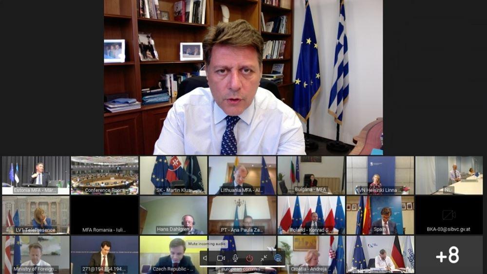 Βαρβιτσιώτης: Η απάντησή της ΕΕ στην κρίση της πανδημίας πρέπει να είναι ισχυρή, άμεση και ευέλικτη
