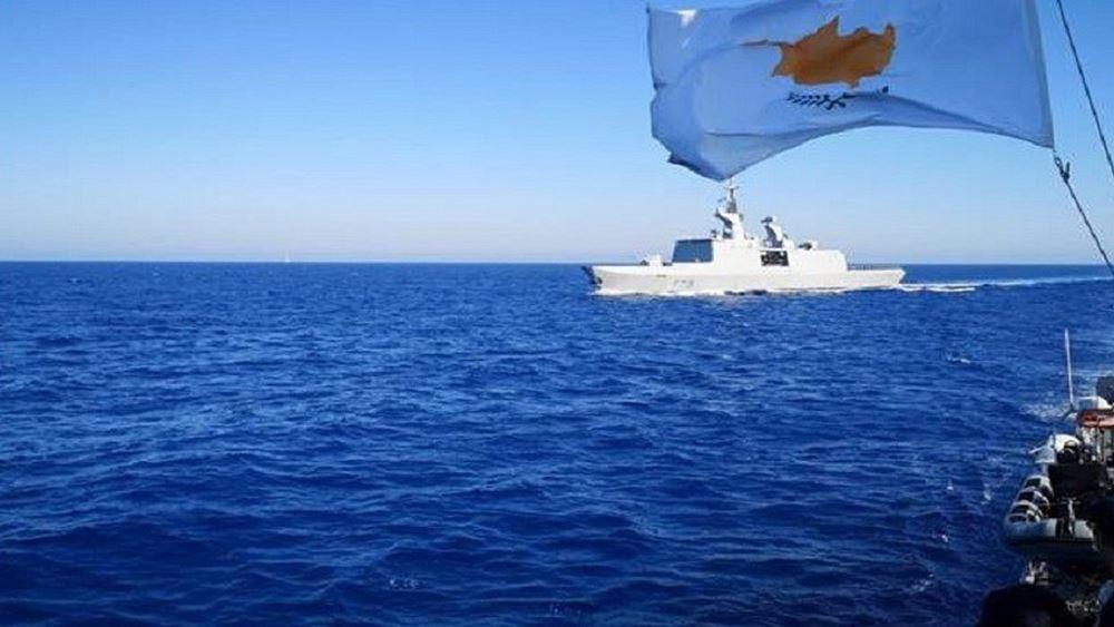 Αρχίζει αύριο η τριμερής ναυτική άσκηση Κύπρου, Γαλλίας και Ιταλίας στην ΑΟΖ