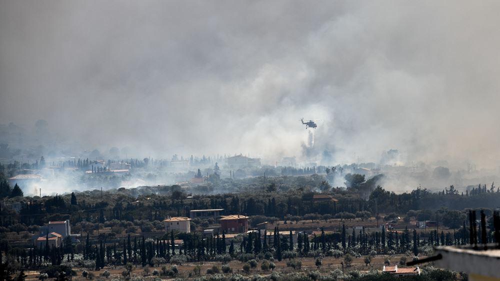 Έκτακτη σύσκεψη στην Ανάβυσσο για την πυρκαγιά στα Καλύβια