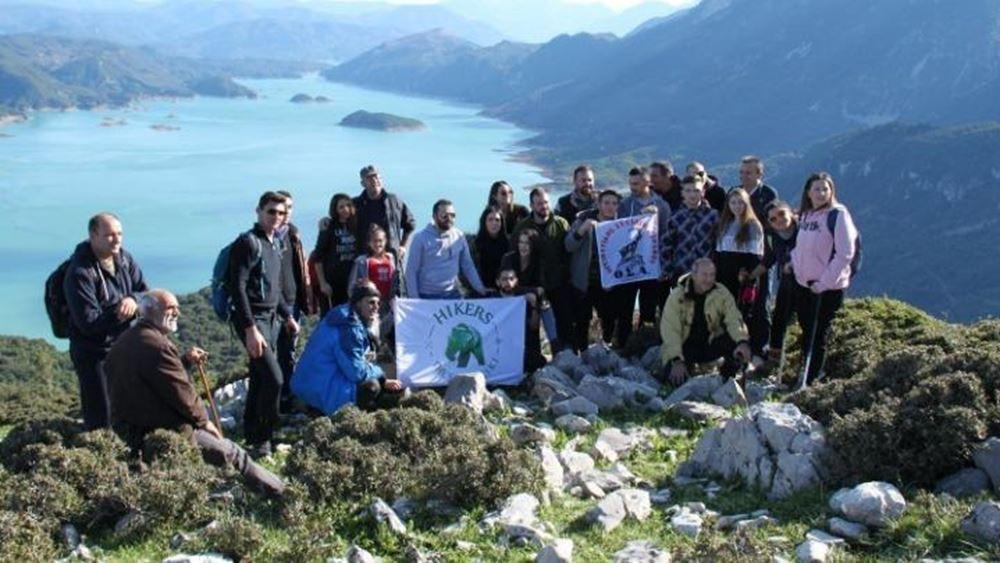 Iωάννινα: Αποχαιρέτησαν τον παλιό χρόνο, στις βουνοκορφές της Κοιλάδας του Αχελώου