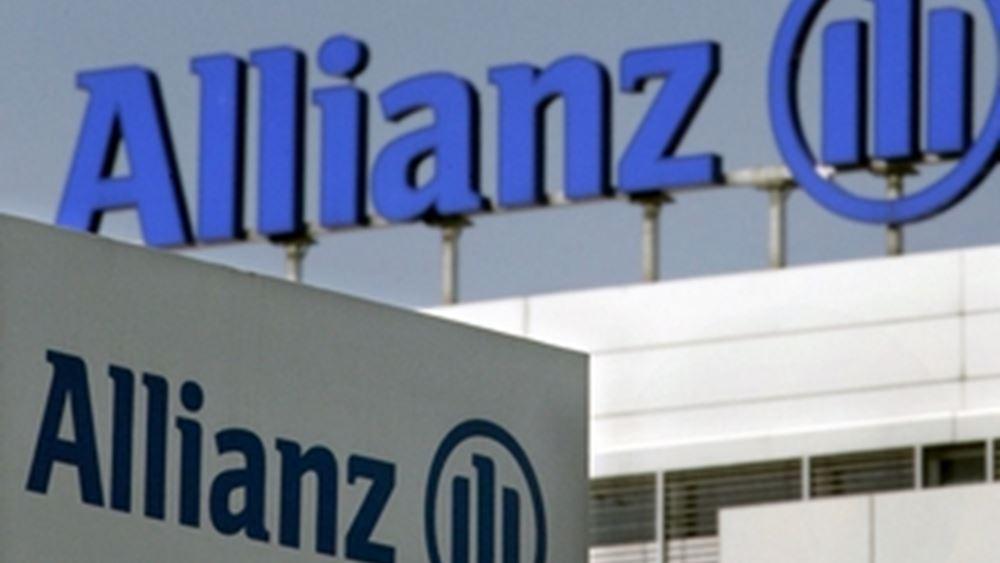 Allianz: Αυξημένα καθαρά κέρδη και ελαφρώς μειωμένα έσοδα στο τρίμηνο