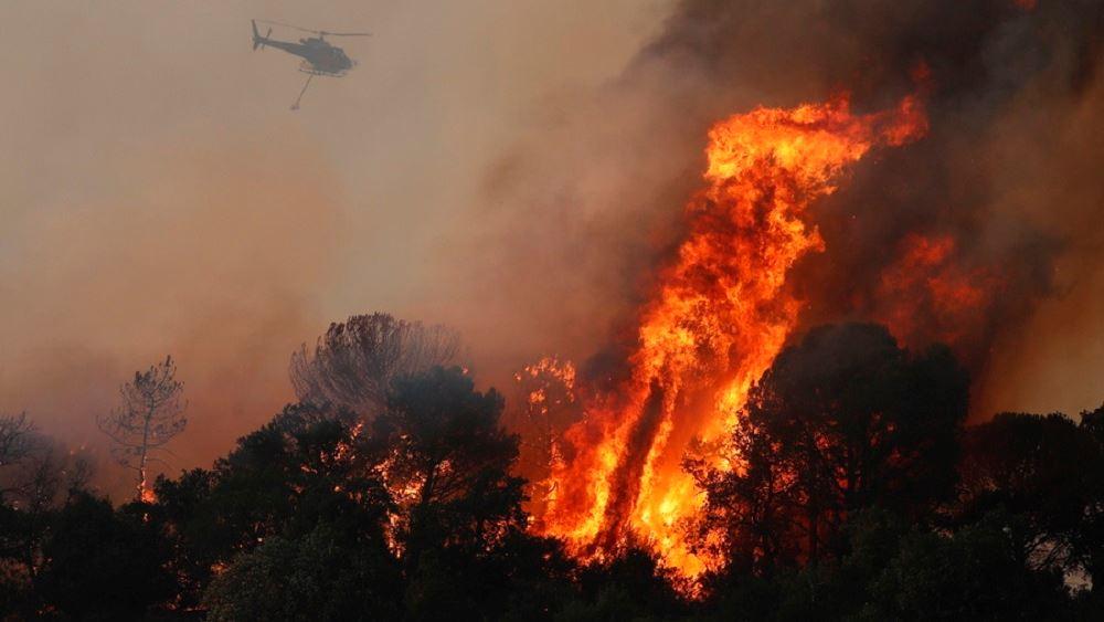 Γαλλία: Δύο οι νεκροί από την πυρκαγιά στην Κυανή Ακτή, κοντά στο Σεν-Τροπέ