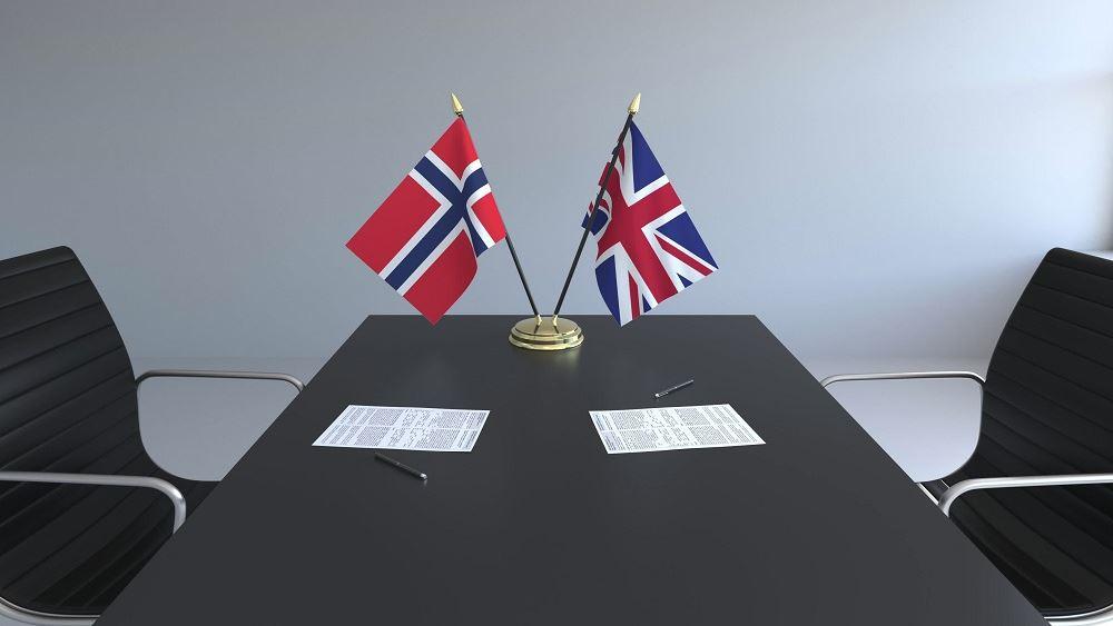 Νορβηγία: Υπέγραψε προσωρινή συμφωνία ελεύθερου εμπορίου με τη Βρετανία
