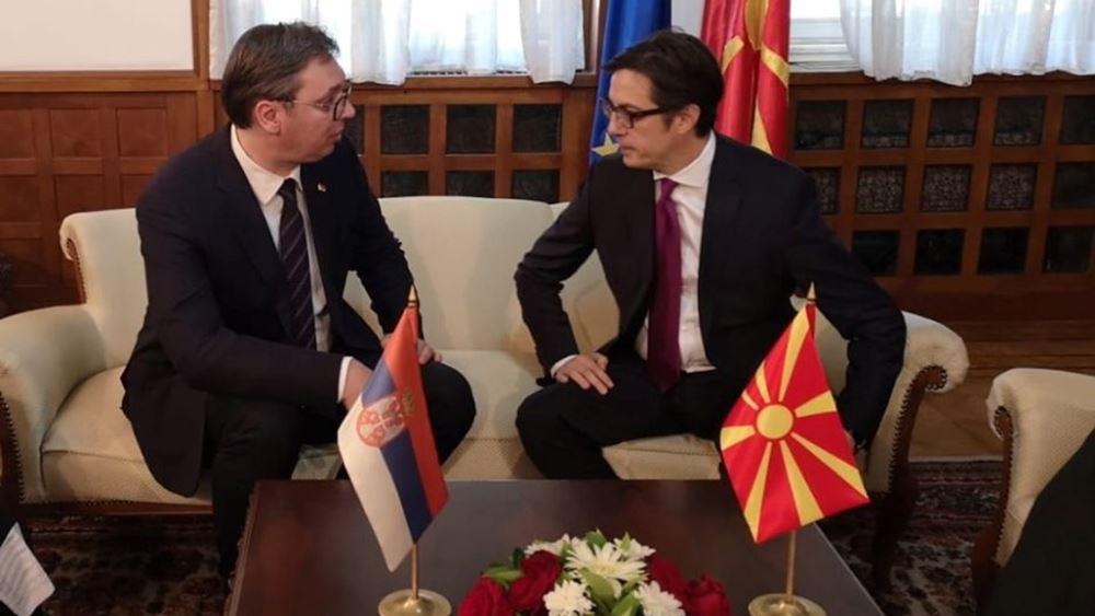 Οι πρόεδροι Σερβίας και Β. Μακεδονίας καλούν την ΕΕ να μην ξεχνά τα δυτικά Βαλκάνια