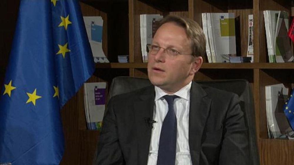 Επίτροπος Βαρχελι: Μεταρρυθμίσεις στη βάση των ευρωπαϊκών αξιών για οικονομική ανάπτυξη στα Δ. Βαλκάνια