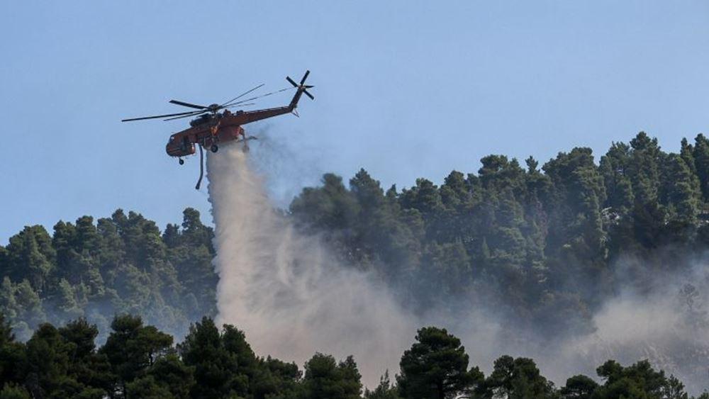 Ο Ν. Χαρδαλιάς βράβευσε τους Ιταλούς και Ισπανούς πιλότους που συνέδραμαν στην κατάσβεση της πυρκαγιάς στην Εύβοια