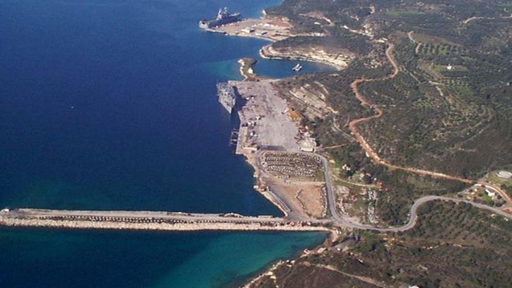Χανιά: Ζημιές στο λιμάνι της Σούδας από πρόσκρουση πλοίου