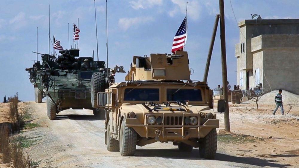 ΗΠΑ: Υπό συζήτηση η διατήρηση κάποιων αμερικανικών δυνάμεων στη βορειοανατολική Συρία