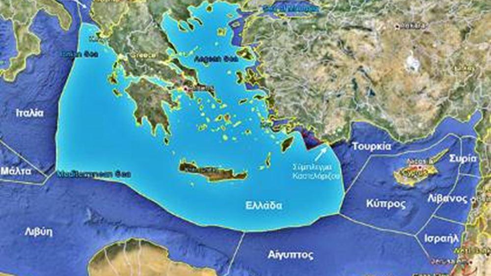 Πώς η χάραξη ΑΟΖ Ελλάδας- Αιγύπτου μπλοκάρει το τουρκολυβικό μνημόνιο