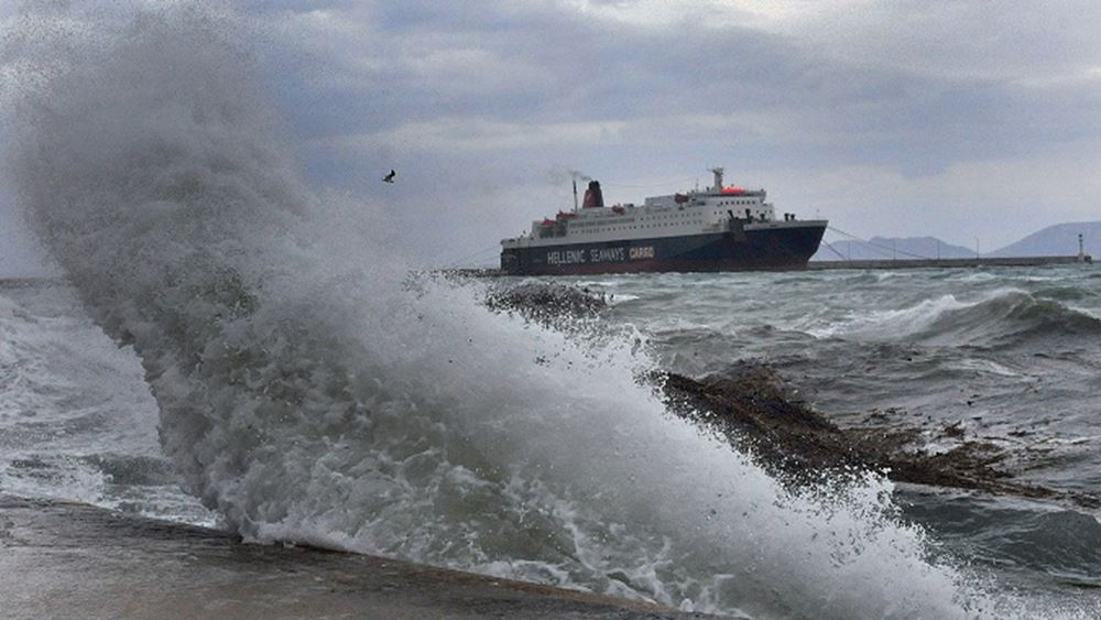 Πού και πώς θα χτυπήσει ο κυκλώνας των 9 -10 μποφόρ