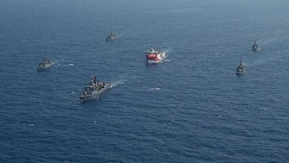 Νέα Navtex από την Τουρκία για άσκηση με πραγματικά πυρά στην Ανατολική Μεσόγειο