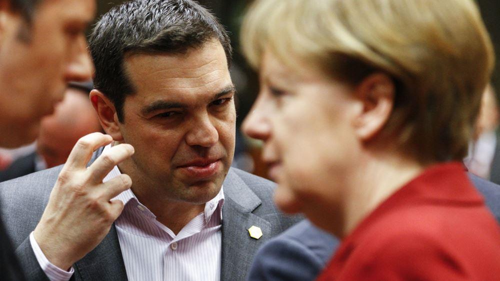 Ευρω- συμμαχίες υπέρ ευρωμολόγου και κατά Βερολίνου ψάχνει ο Τσίπρας