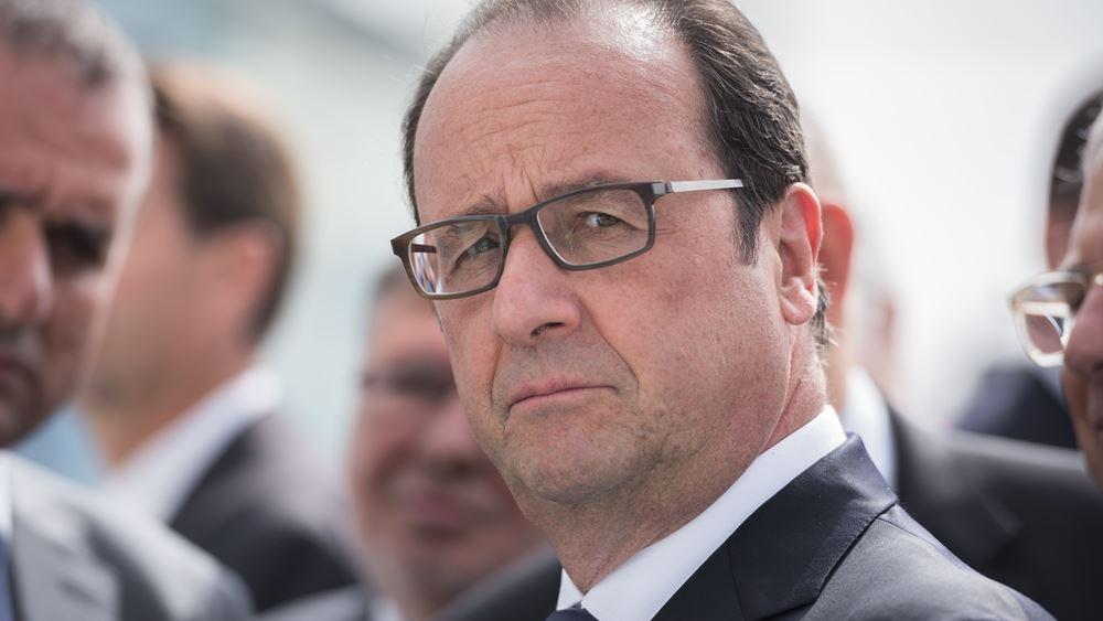 """Φρ. Ολάντ: Ανησυχία για """"αναζωπύρωση"""" του κινδύνου της τρομοκρατίας στη Συρία"""