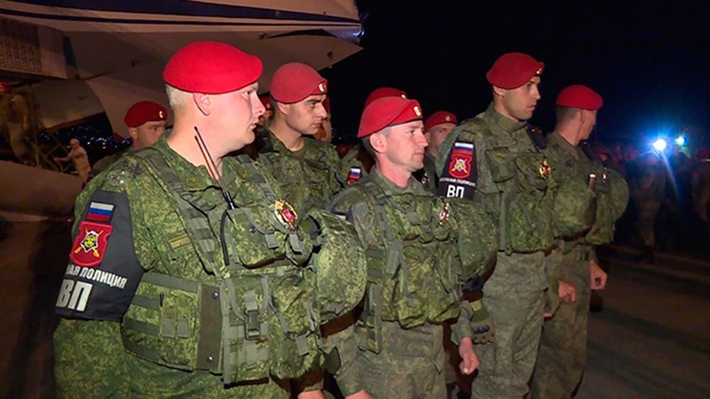 Η Ρωσία έστειλε στρατονομία από την Τσετσενία στη Συρία
