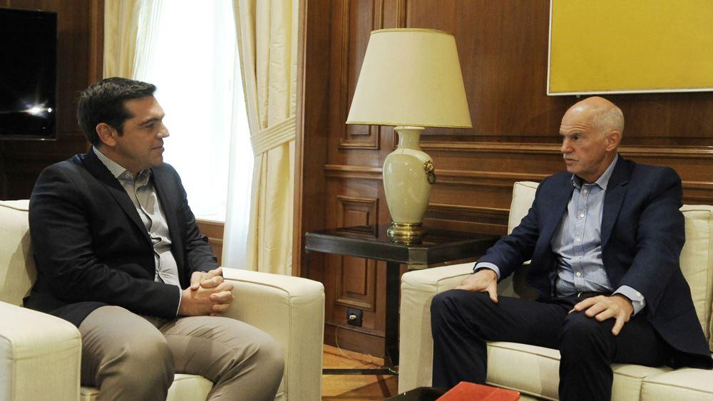 """Πώς είδαν στον ΣΥΡΙΖΑ το """"φλερτ"""" Παπανδρέου - Σε """"επιφυλακή"""" η εσωκομματική αντιπολίτευση"""