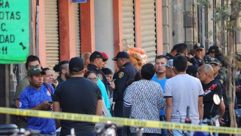 Μεξικό: Τέσσερις νεκροί σε ανταλλαγή πυρών κοντά στο προεδρικό μέγαρο